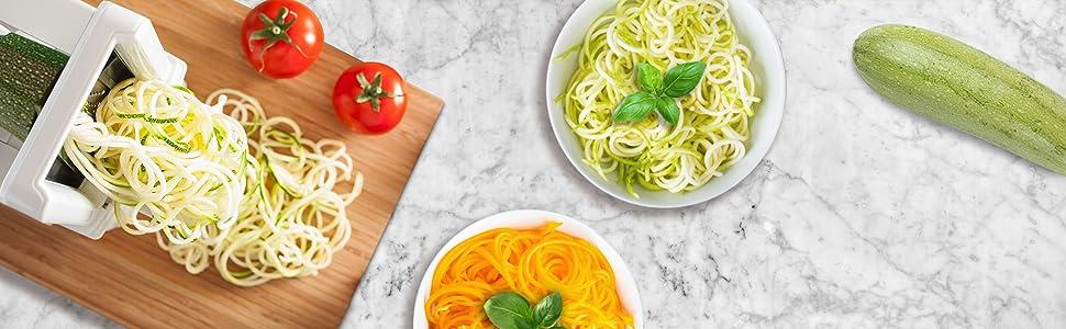 food zucchini spiralizer