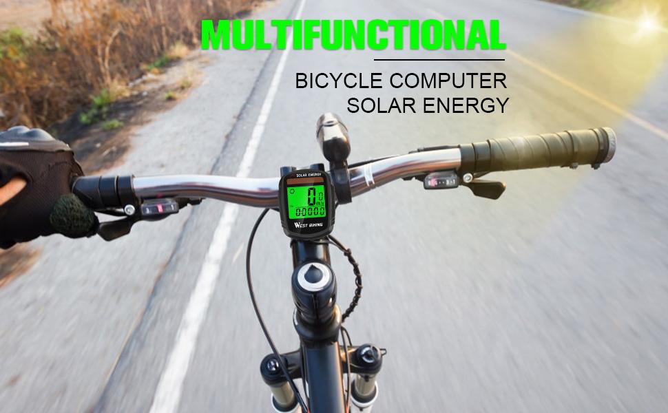 bike computer wireless waterproof bicycle speedmeter ordermeter