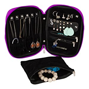 Jewelry case and pouch