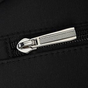 elegant metal zipper pull