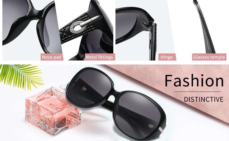Amazon.com: Duco Women's Shades Classic Oversized