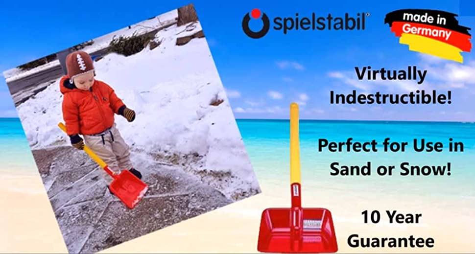 Spielstabil Heavy Duty Flat Shovel for Snow and Sand Made in Germany