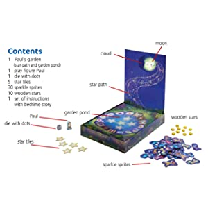 HABA Paul and The Moon Cooperative Memory Game Lovely Bedtime Game for Ages 3-8 302697