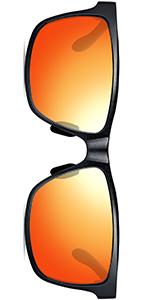 Amazon.com: ATTCL Anteojos de sol con marco de metal retro ...
