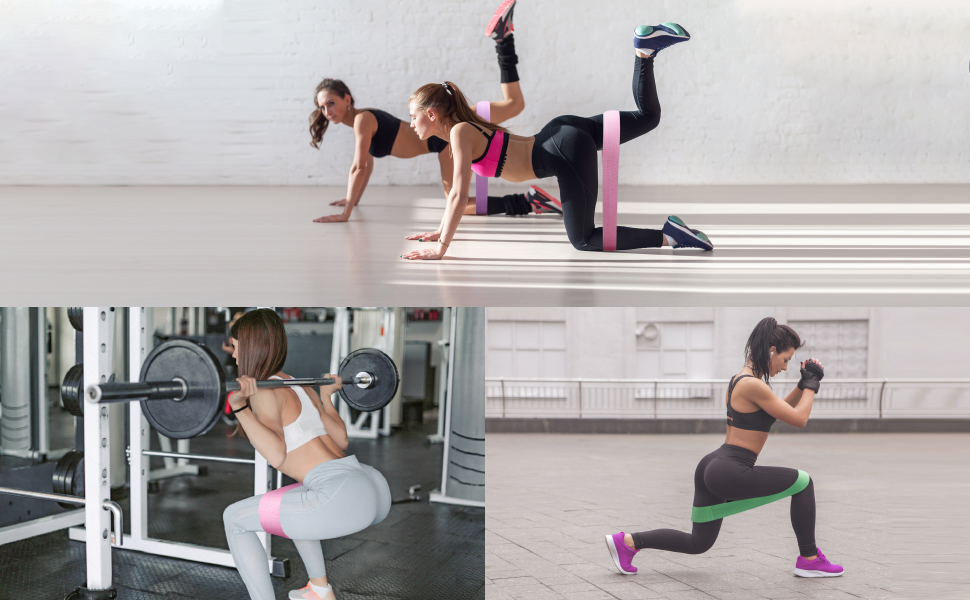 Beachbody Resistance Bands For Legs and Butt Exercise Equipment For Women NEW