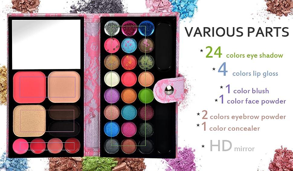 26 Colors Women Makeup Palette Eye Cosmetic   Shopee Malaysia