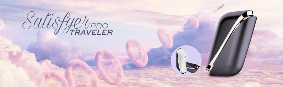 Satisfyer Pro Traveler, Traveller, pressure wave stimulation, handy, small, little, on-the-go