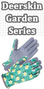 Women Deerskin Gardening Gloves