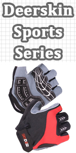 Deerskin Ventilated Workout Gloves