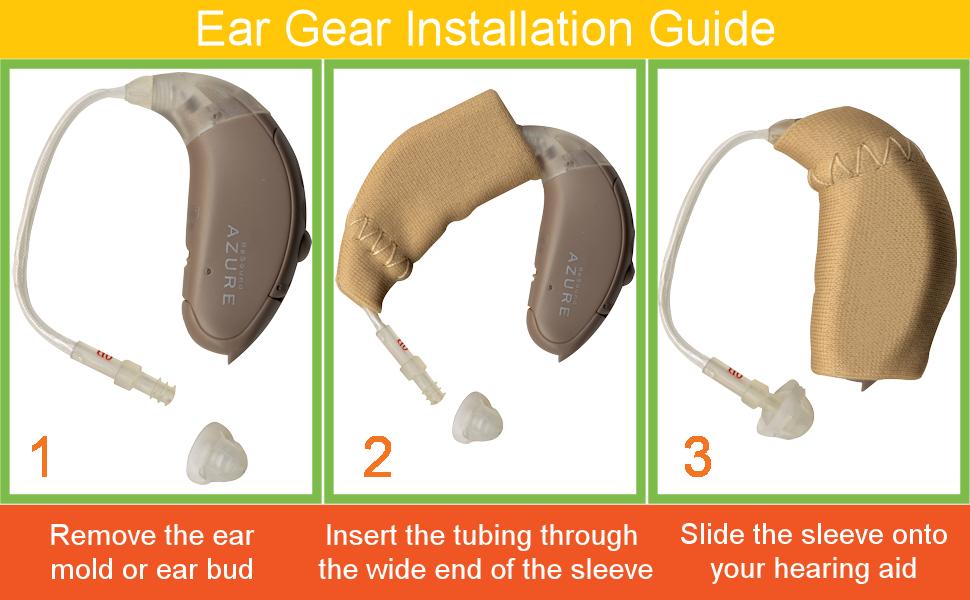 Ear Gear installation guide