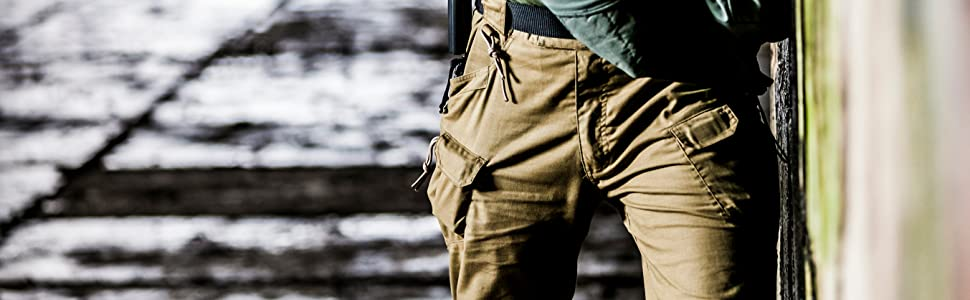 UTP Urban Tactical Pants PolyCotton Ripstop in Coyote Brown