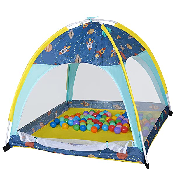 Amazon.com: Eggsnow Kids Play Tent ,Folding Toddler Play Tent for ...