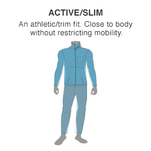 Eddie Bauer Men's Active Fit Slim Fit
