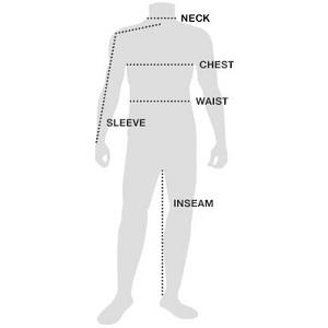 Eddie Bauer Men's Clothing Size Guide