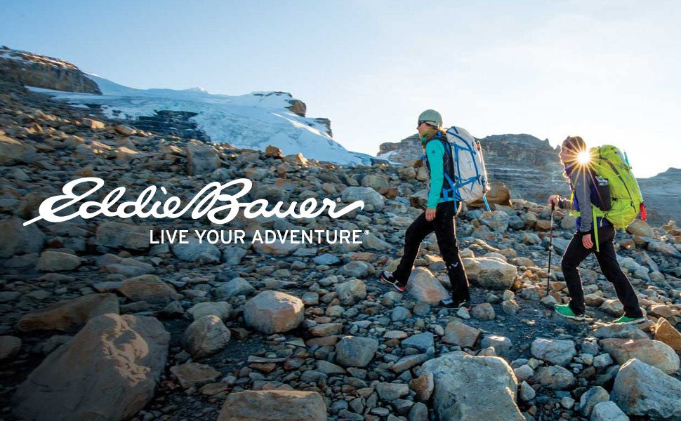 OUR FOUNDER, EDDIE BAUER, WAS AN OUTDOOR GUIDE.