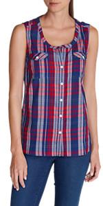 920ce881cdd4b Eddie Bauer Women s Sunrise Sleeveless Popover Shirt · Eddie Bauer Women s  Gate Check Sleeveless Split-Neck Tunic · Eddie Bauer Women s Tranquil  Sleeveless ...