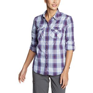 ccd37dbbc4 Eddie Bauer Women's Mountain Long-Sleeve Shirt at Amazon Women's ...