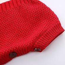 e37dc3463fb Amazon.com  Mud Kingdom Baby Girl Knit Rompers Collar Sweet  Clothing
