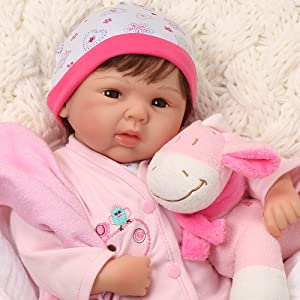Amazon Com Paradise Galleries Reborn Baby Doll Lifelike