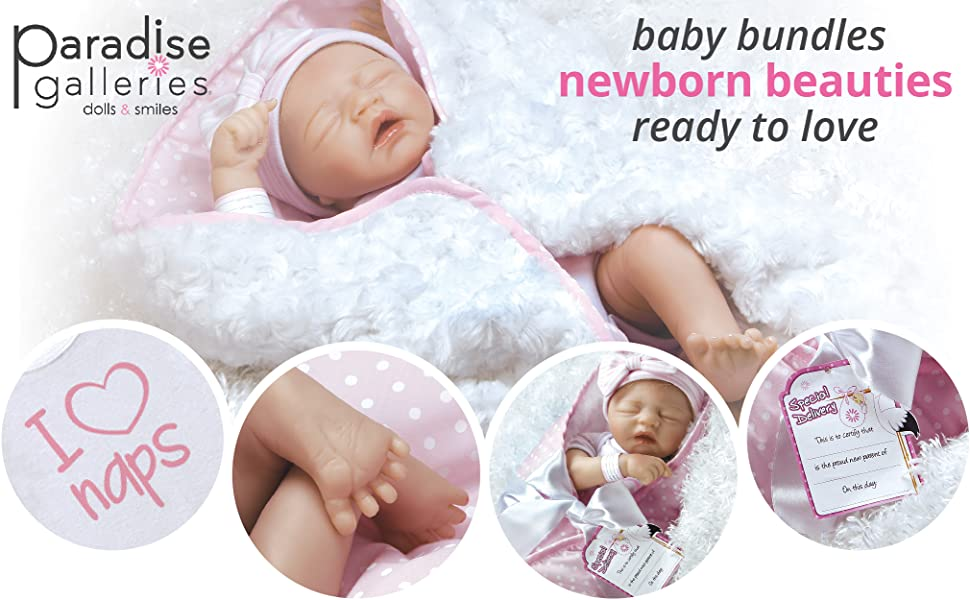 Amazon Com Paradise Galleries Reborn Baby Doll In
