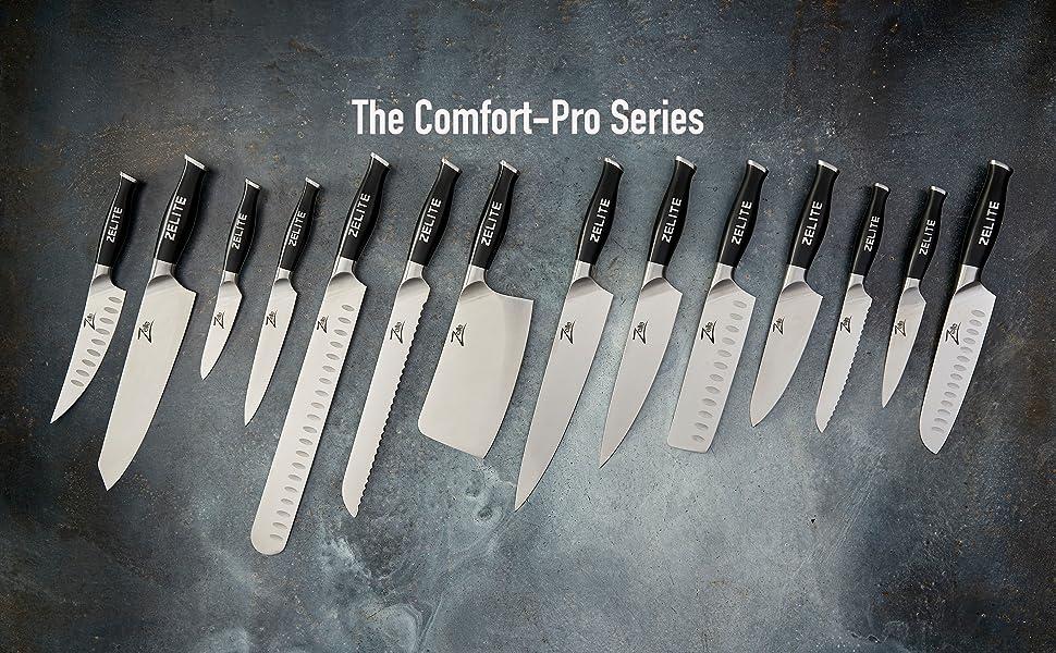 Zelite Infinity Comfort-Pro High Carbon German Stainless steel multipurpose razor-sharp best value