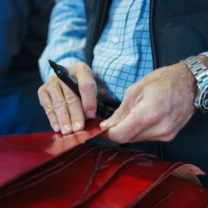 Italian, leather,