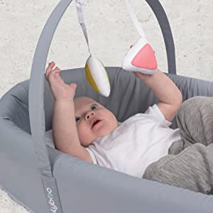 bassinet to go metro infant baby travel bed