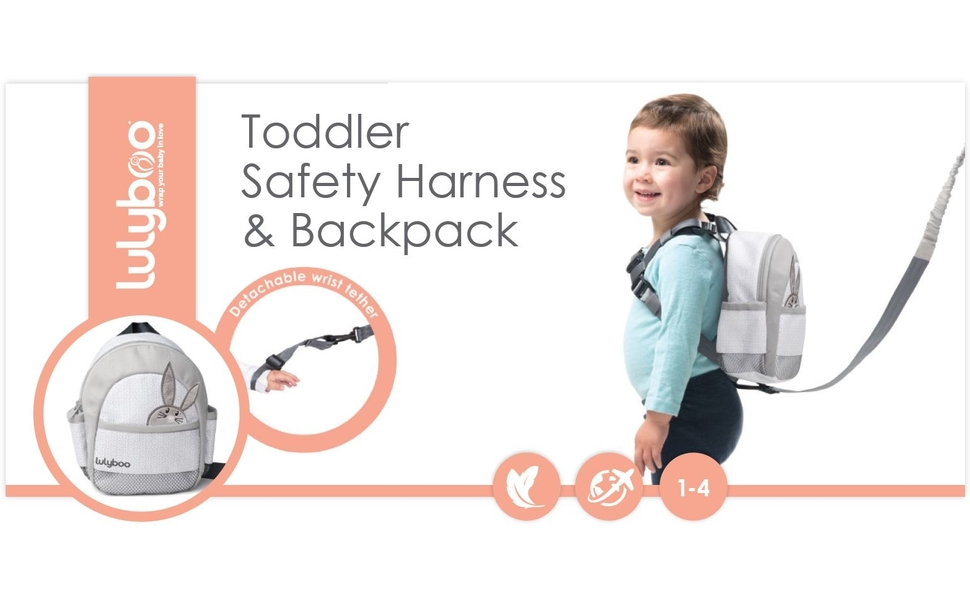 Amazon.com   Lulyboo Toddler Safety Harness and Backpack   Baby 3eaba65d73609