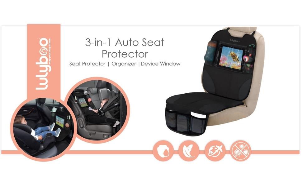 Amazon.com: Lulyboo Auto Asiento Protector – durable asiento ...