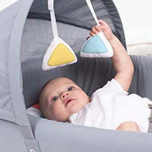 Amazon Com Lulyboo Bassinet To Go Metro Baby