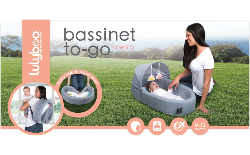 bassinet to go banner lulyboo