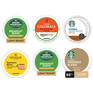 Light Roast Decaf K-Cup Capsules