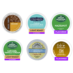 Flavored Coffee - Other Beverage K-Cup Capsules