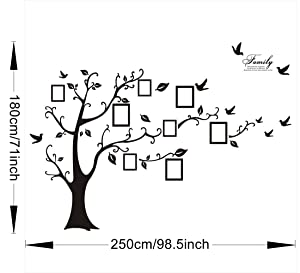 "Stencil Sheet FAMILY Tree GENERATIONS  8 1//2/"" x 11 Plastic Reusable"