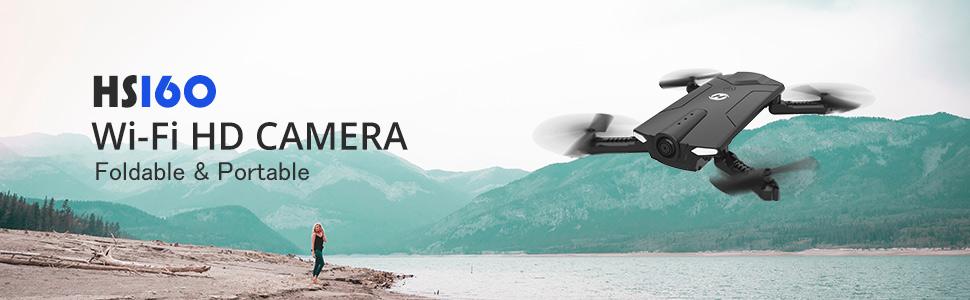 HS160 Wi-Fi HD CAMERA Foldable & Portable