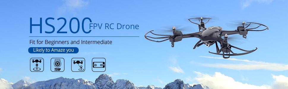 HS200 FPV RC Drone