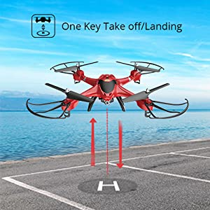one key start or landing