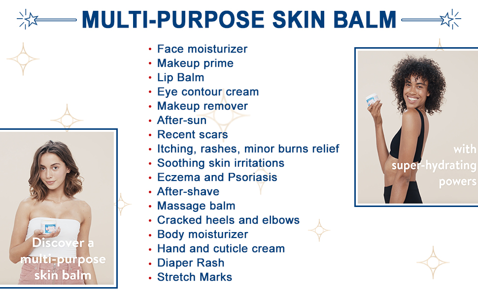 Massage balm with super hydrating powers.