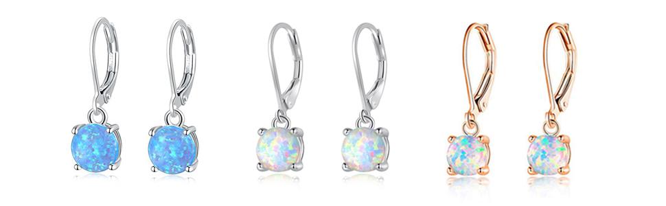 leverback earrings for girls