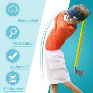 Amazon.com: Uarzt - Juego de palos de golf de espuma suave ...