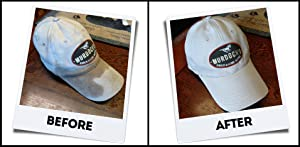 440c4330d48c8 Amazing results - BEFORE and AFTER washing ballcaps in the Ballcap Buddy Cap  Washer - hat cleaner