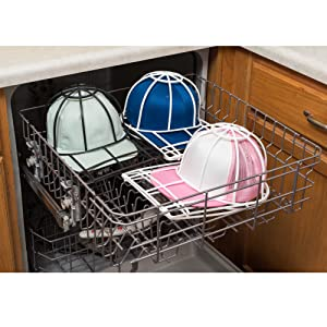 Recommended for the top rack of the dishwasher - leave in Ballcap Buddy to  dry d98762e089a6