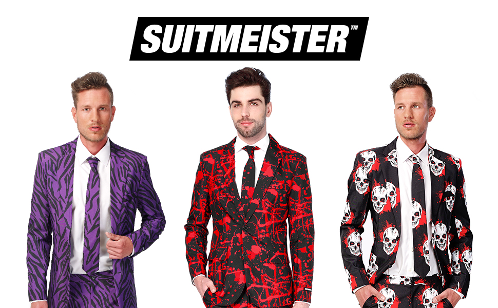 Halloween suit for men suitmeister crazy scary costume