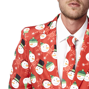 sweater holidays suit