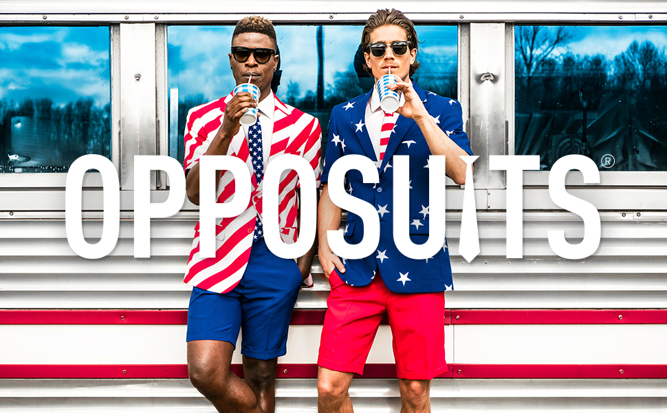 usa united states america flag for men suit