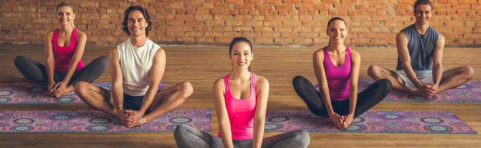 Amazon.com: Trideer esterilla de yoga, impresión premium ...