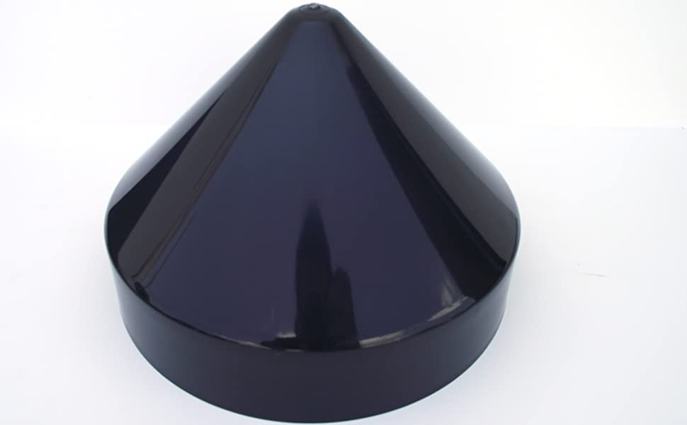 Black Piling Cones