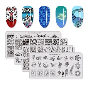 nail stamping plate