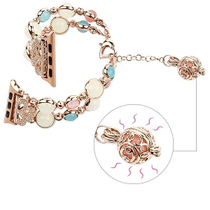 Jewels Obsession Carousel Pendant Sterling Silver 42mm Carousel with 7.5 Charm Bracelet