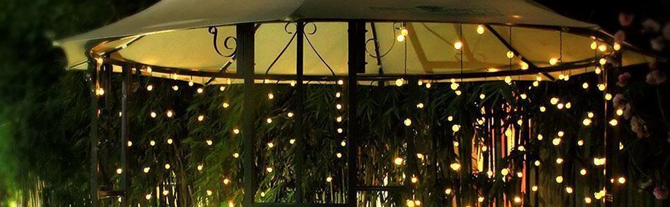 Amazon.com: Dailyart - Guirnalda de luces LED para boda ...